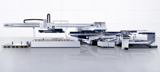 Macchine Trumpf per la lavorazione combinata di punzonatura e taglio laser