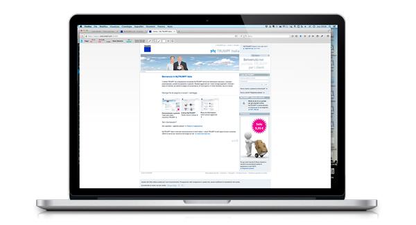 MyTRUMPF il portale per i clienti TRUMPF