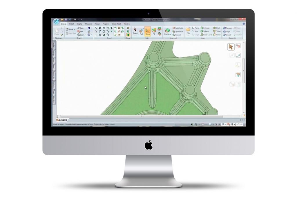 SpaceClaim 3D per il settore meccanico